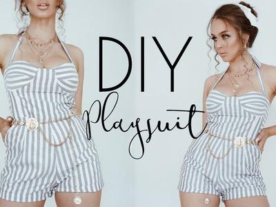 DIY - How to make Playsuit | Tijana Arsenijevic