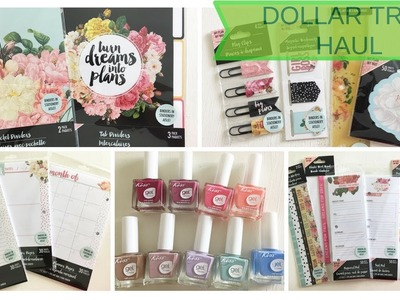 DOLLARTREE HAUL MAY'18 ~ New Planner Items and More