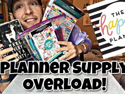Mini Happy Planner Supply OVERLOAD!