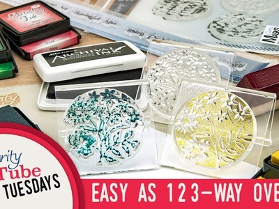 Stamping How To - Easy as 1, 2, 3 Way Overlay