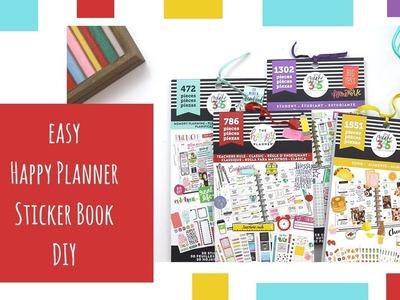 The Happy Planner | Sticker Book DIY