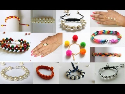 13 DIY Friendship band Ideas| My Bracelets Collection|#Bracelets | Sapnacreations