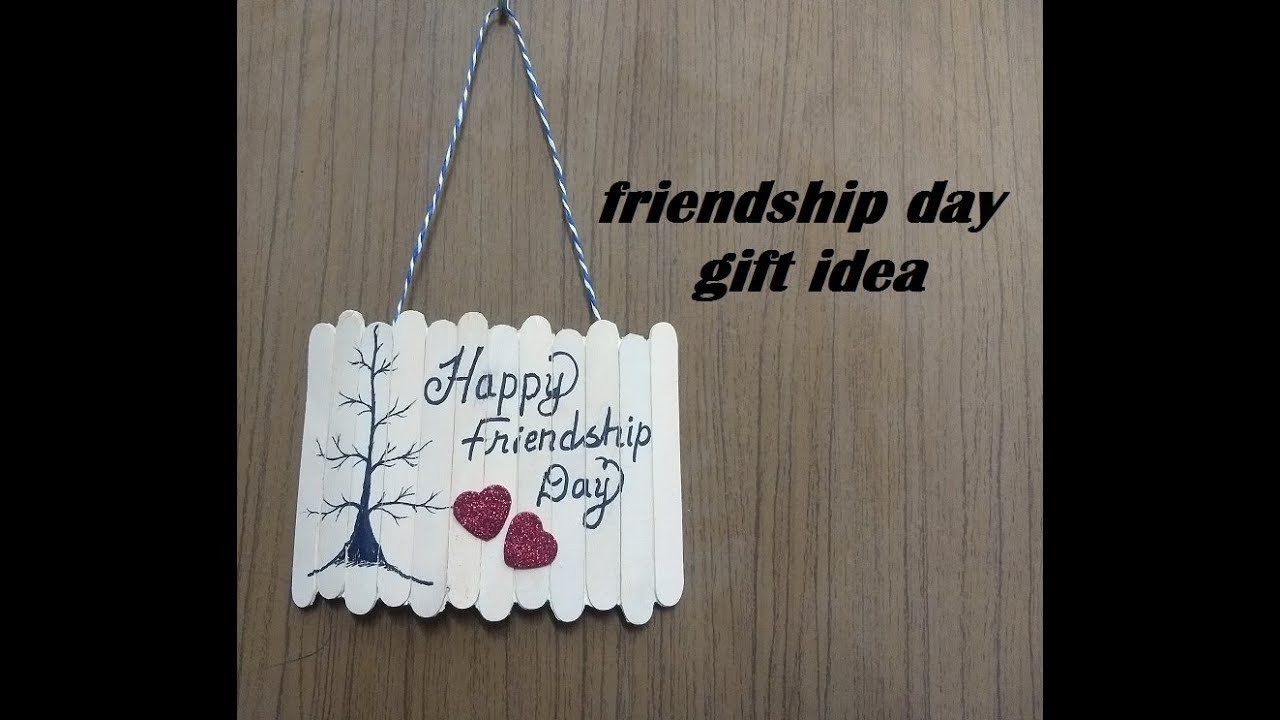 Beautiful Handmade Gift Idea for FRIENDSHIP DAY