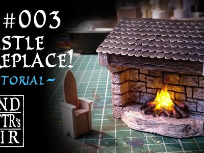 Castle Fireplace for tabletop RPG - Tutorial -