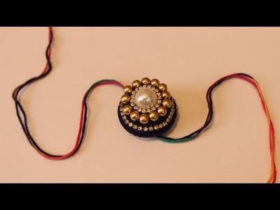 DIY - How to make rakhi Bandhan | Handmade Easy Beautiful Rakhi Designs