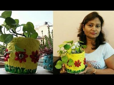 DIY ideas,do it yourself, plant pot diy,planter,anvesha,s creativity