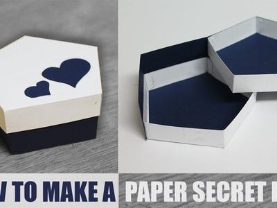 DIY Secret Stepper Box - Paper Craft Ideas
