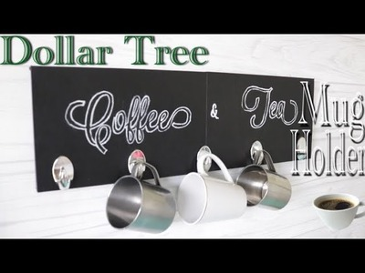Dollar Tree DIY Coffee Mug Holder