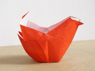 Easy 3D Origami Chicken (Henry Pham)