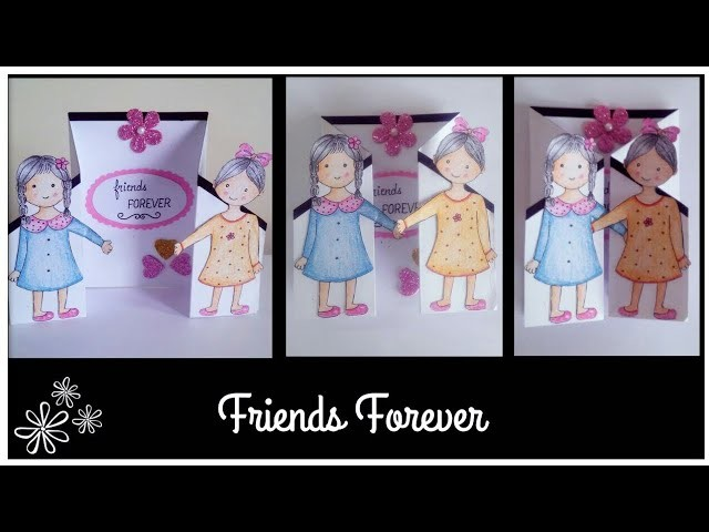 Handmade Friendship Day Card | Tutorial | How to make a Card for Friend
