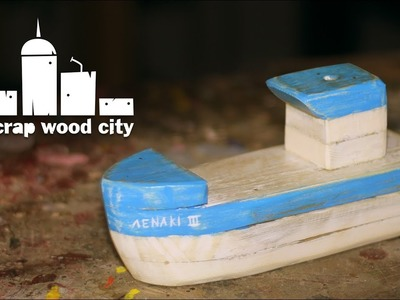 How to make a DIY rustic decorative boat