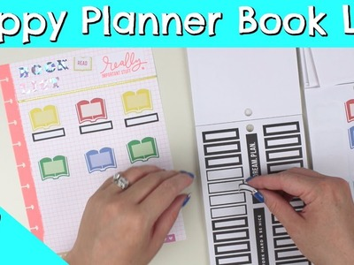 How To Make A Happy Planner Book List! - Plan With Me