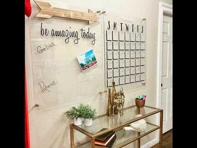 How to make an acrylic wall calendar