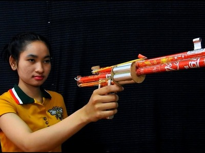 How To Make Coca Cola Gun For Entertainment  - Coca Cola Gun