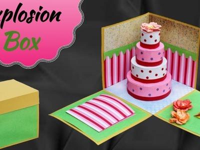 Tutorial : Best Explosion Box for Birthday Gift | Friendship Day Gift Ideas |