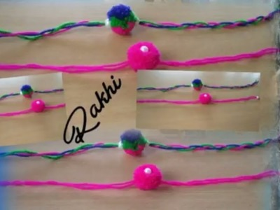 Woolen Rakhi  ll DIY - Latest Handmade Rakhi Designs || Rakhi for Raksha Bandhan