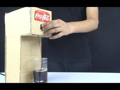 DIY How To Make Coca-Cola Soda Fountain (Dispenser) At Home