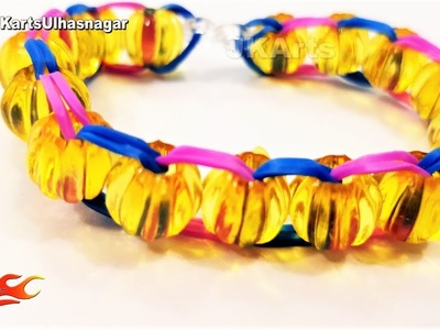 DIY Loom Band for Friendship Day, How to make, JK Arts 1431