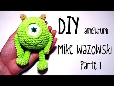 DIY Mike Wazowski Parte 1 amigurumi crochet.ganchillo (tutorial)
