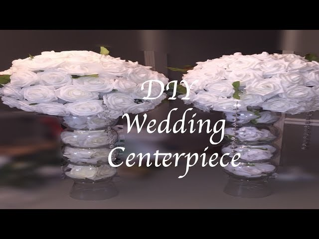 DIY | WEDDING CENTERPIECE