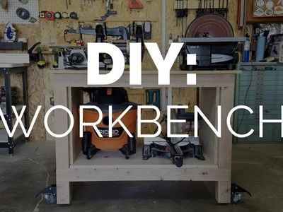DIY Workbench - Easy Woodworking for Beginners