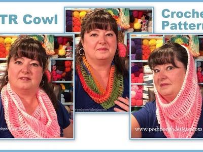 DTR Cowl Crochet Pattern