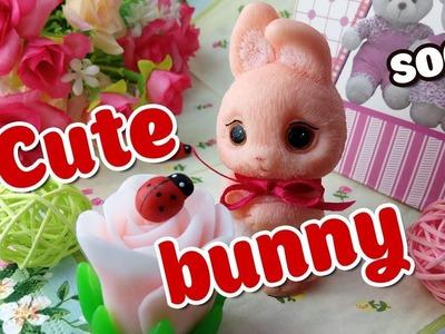 How to make cute bunny soap  - DIY & Handicraft