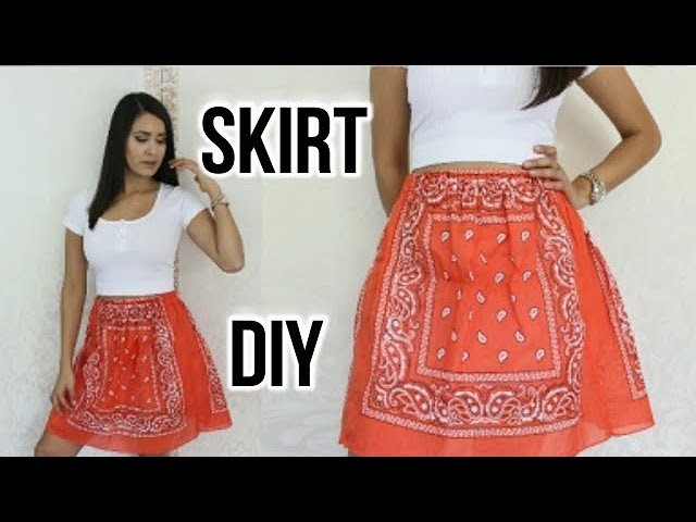 How To Sew: Bandana Skirt DIY DamaV425