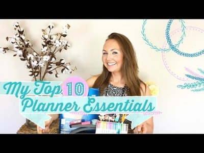 MY TOP 10 PLANNER ESSENTIALS | HAPPY PLANNER SUPPLIES FOR BEGINNERS