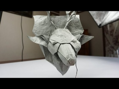 Origami Tips & Tricks - How To Make A Wire Stand For Your Models