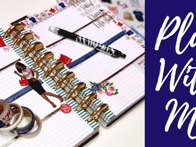 Plan With Me| Classic Happy Planner| Weekly Planner Inspiration