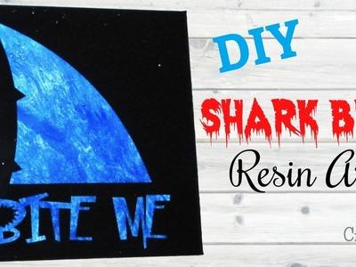 Shark Bite Me Art DIY | Resin Crafts | Craft Klatch