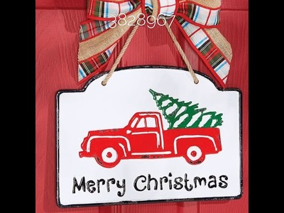 Truck Products for Autumn & Christmas at Trendy Tree