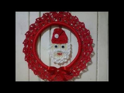 Conjunto Papai Noel crochê