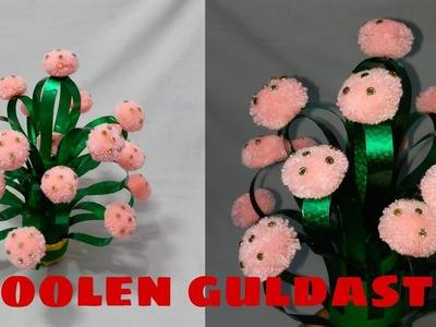 DIY NEW CRAFT : Guldasta From X-ray & wool.