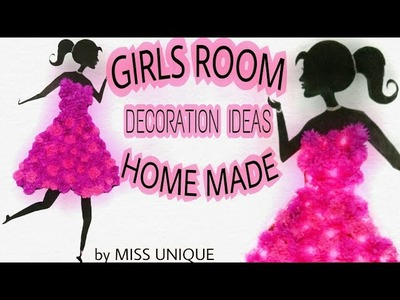 DIY ROOM WALL DECOR easy craft ideas at home