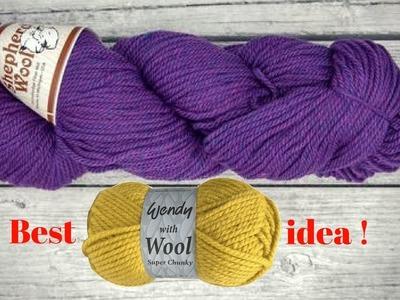 DIY Woolen craft idea   Home Decorating idea   DIY arts and crafts