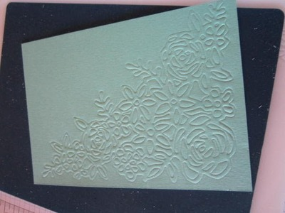 Embossing Mats - How To Use