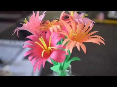 Home Decorations : Paper Flower | Diy