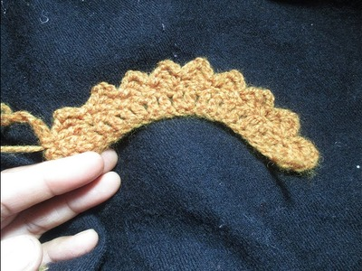 How to crochet edges.kigri for beginners[Hindi]