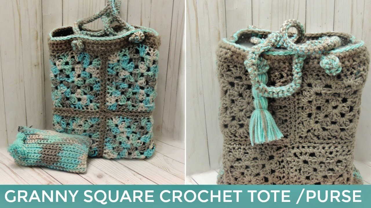 How to Crochet Purse or Tote Bag