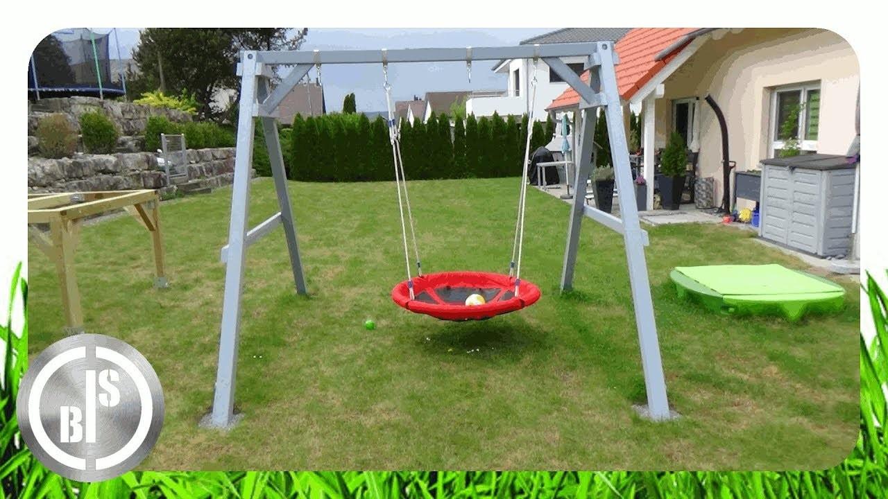 How to Make a Kids Swing. Kinderschaukel selber bauen