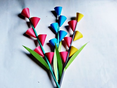 How To Make A Paper Flower Vase - DIY Simple Paper Craft new