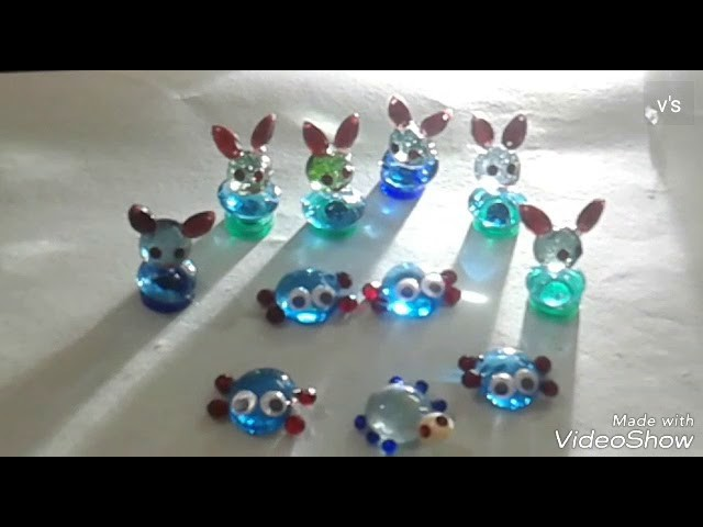 How to make DOLLS with marbles