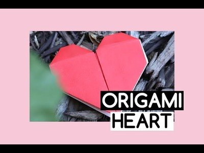 How to Make Origami Heart ❤️‍| Easy Instructions for Kids