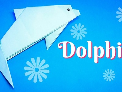 Origami Dolphin easy to fold easy to follow HD tutorial