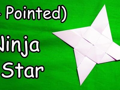Paper Ninja Star (Shuriken) - Easy Origami Tutorial