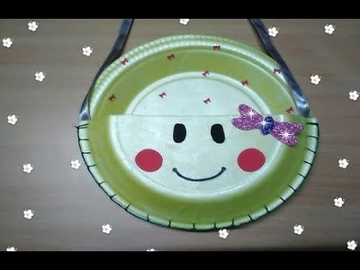 Paper Plate Craft for Kids | Thermocol Plate Craft | Easy Craft