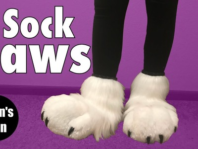 SOCK PAWS - DIY -The Ryan's Den