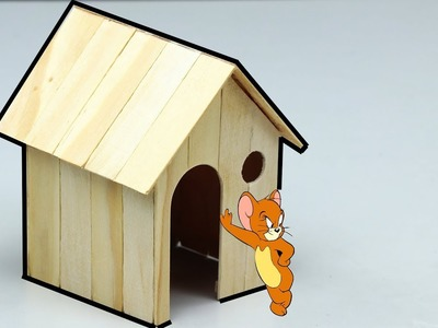 Wow! Amazing DIY Hamster's House, Popsicle Stick Craft